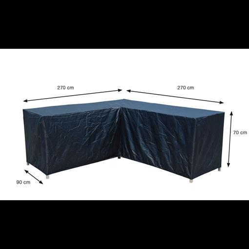 COVERIT loungeset L hoes 270/270x90xH70 2021