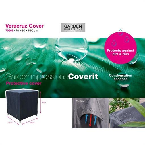 COVERIT Veracruz hoes 70x90xH90 2019