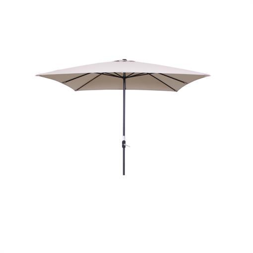 GARDEN IMPRESSIONS Lotus parasol 250x250 - carbon black 2020