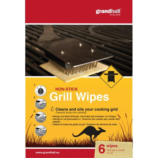 GRANDHALL Cooking Grid Non Stick Wipes 6pcs 2021