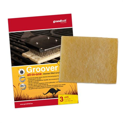 GRANDHALL Groover Cooking Grid Deep Cleaning 3-P 2019