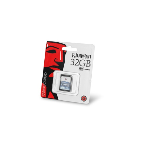 KINGSTON SDHC MEMORYCARD 32GB 2012
