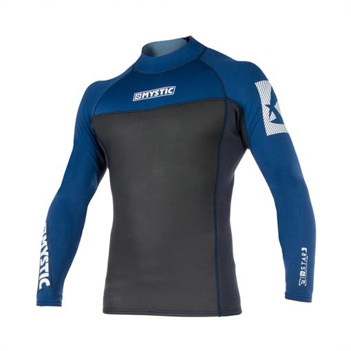 MYSTIC Star L/S Vest Neoprene 2mm 2019 Zomer Stockbase