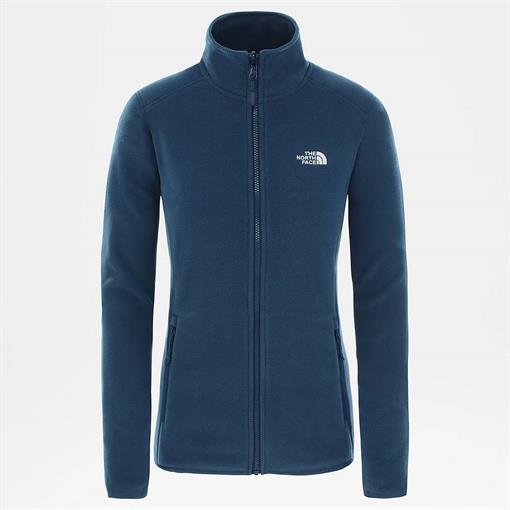 NORTHFACE W 100 GLACIER FULL ZIP 2021