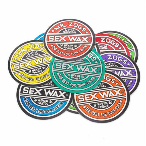 SEX WAX 7' circular original logo 2019