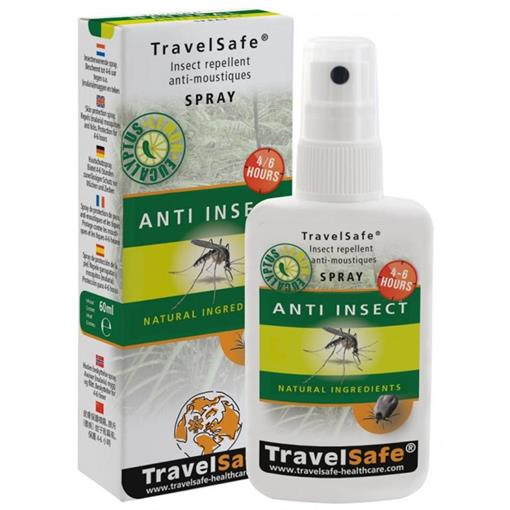 TRAVELSAFE Anti-Insect Spray 60 ml 2018
