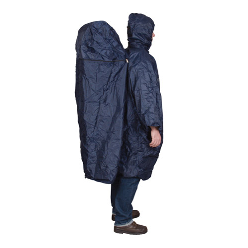 TRAVELSAFE Rainponcho DLX, zipper extension 2021