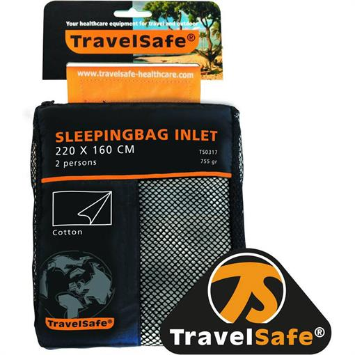 TRAVELSAFE Sl.bag inlet cotton 2 pers. ENVELOPE 2018