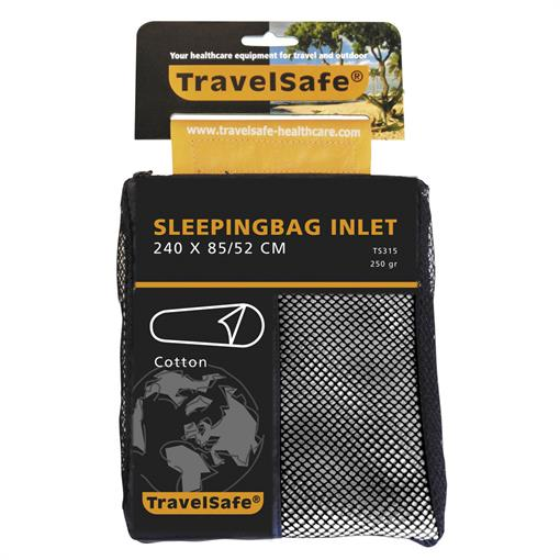 TRAVELSAFE Sleepingbag inlet cotton ENVELOPE 2019