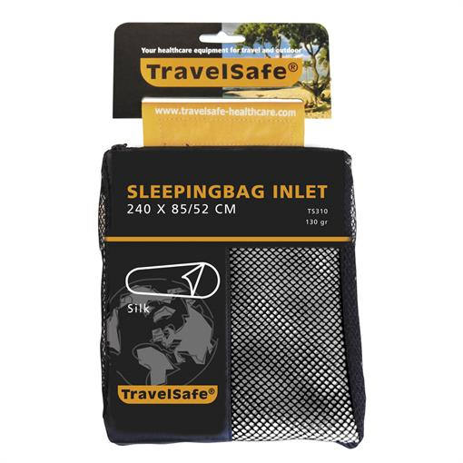 TRAVELSAFE Sleepingbag inlet silk MUMMY 2018