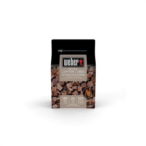 WEBER Aanmaakblokjes, bruin, ecologisch 2018