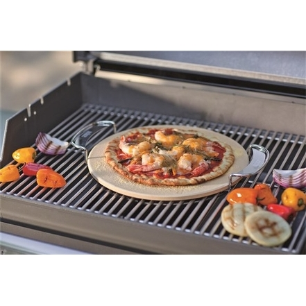 WEBER BBQ Syst. Pizzasteen+draagbeugel 2019