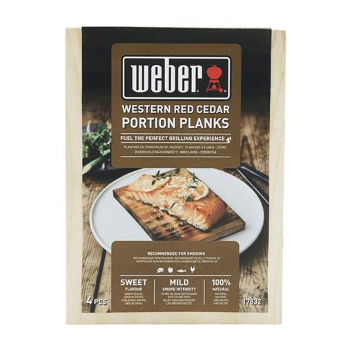 WEBER Western Red Cedar Wood Portion Planks 2020